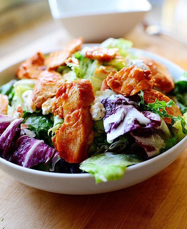 Pioneer Woman buffalo chicken salad