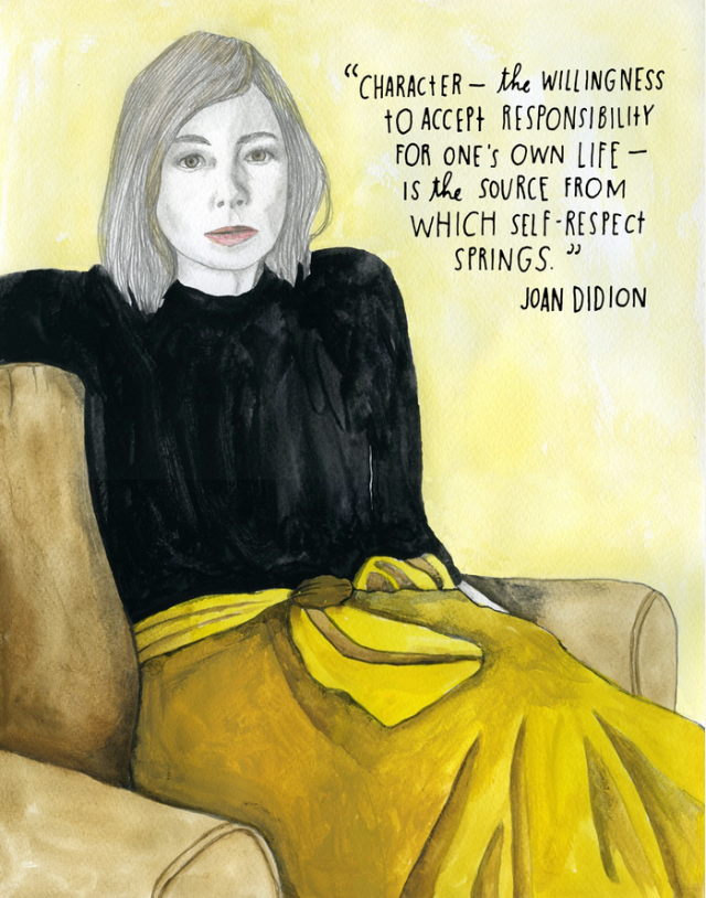 Joan Didion self-respect