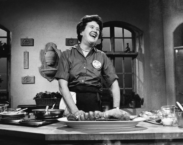 Julia Child chicken with mushroom