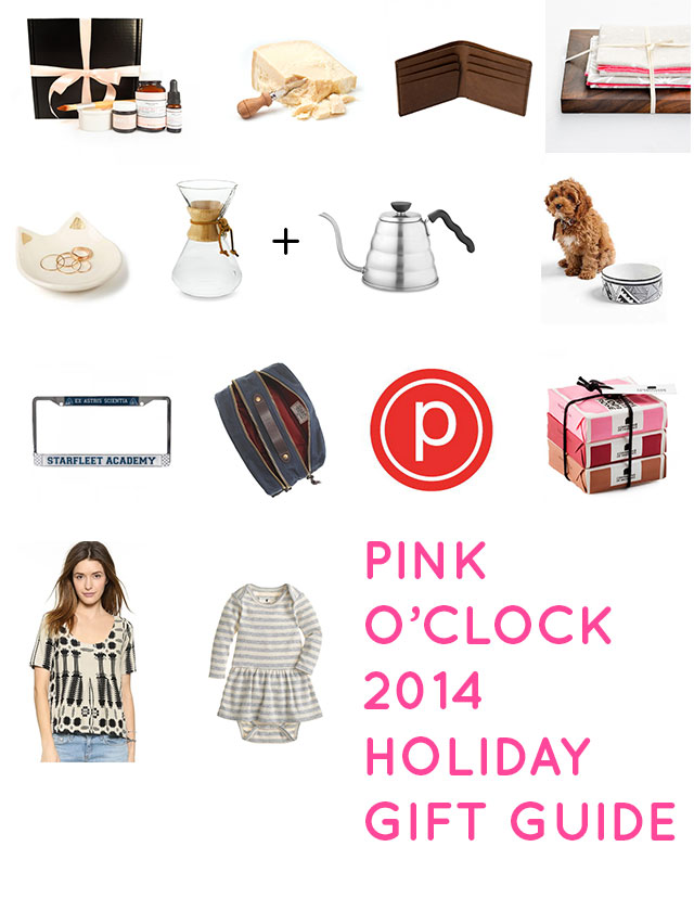 Pink O'Clock holiday gift guide